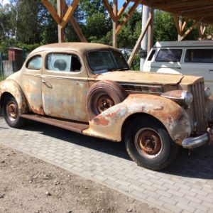 1939 Packard One Twenty 120 Coupe Super 8 Dual Sided Spare Mount